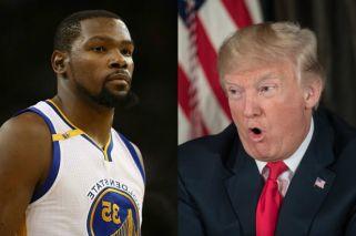Kevin Durant quiere boicotear a Donald Trump