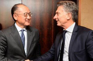 Con la expectativa en inversiones, Macri recibe al titular del Banco Mundial