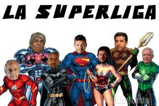Los imperdibles memes que dejó el lanzamiento de la Superliga