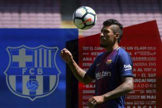 La vergonzosa presentación de Paulinho en Barcelona