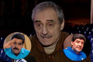 Angel Cappa, polémico: defendió a Maradona y Maduro