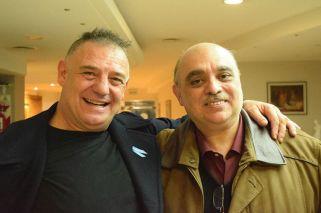 El polémico encuentro del neonazi Biondini con Ricardo Iorio