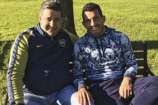 Angelici se reunió con Tevez: ¿Vuelve Carlitos a Boca?