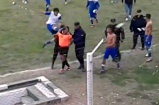 Brutal agresión a un árbitro en una liga salteña
