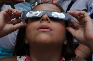 Así se vivió el eclipse solar