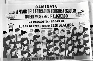 Sobre la educación religiosa en Salta