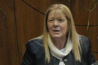 La candidata a senadora por la provincia de Buenos Aires, Margarita Stolbizer.