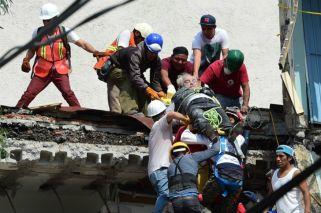 Los devastadores videos del terremoto en México