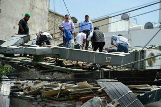 Los primeros videos del terremoto fatal en México