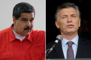 Macri, como Maduro