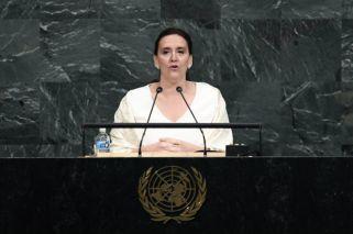 Gabriela Michetti habló ante la ONU en reemplazo de Macri