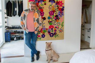 Benito Fernández nos muestra su casa a puro color