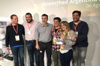 Jóvenes argentinos crean un sistema para descubrir oro