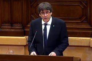 Vivo | Cataluña: habla Puigdemont y pone en vilo a todo España