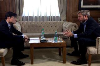 El ministro del Interior, Rogelio Frigerio, se refirió durante una entrevista con Jorge Fontevecchia a cómo estaba la Argentina cuando asumió el Gobierno de Cambiemos.