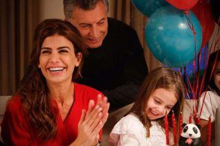 Antonia Macri cumplió 6 años y así lo festejaron en familia