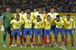 Cinco jugadores de Ecuador fueron suspendidos por enfiestarse