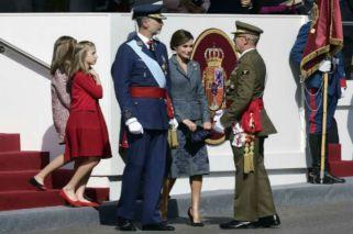 El look de la Casa Real española en una jornada clave