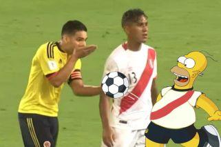 Los Simpson predijeron el empate entre Perú y Colombia