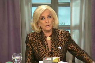Mirtha Legrand arremetió contra Cristina Kirchner