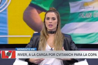 Chechu Bonelli dio detalles sobre el posible pase de Cvitanich a River