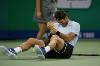 Del Potro pone en duda su presencia ante Federer