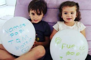 El aliento de los hijos de Fernando Gago para su recuperación