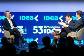 Las 5 definiciones de Macri en el Coloquio de IDEA
