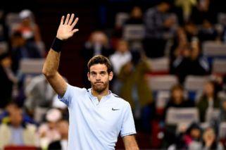 Del Potro ganó y chocará ante Federer en semis de Shanghai