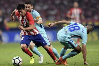 Atlético de Madrid no pudo golpear al Barcelona