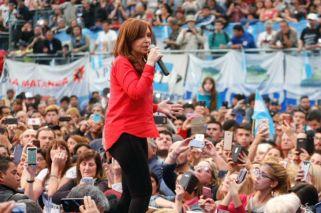 La expresidenta Cristina Fernández de Kirchner estuvo en La Matanza.