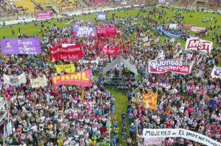 Más de 70 mil personas llegaron a Chaco para participar del Encuentro Nacional de Mujeres