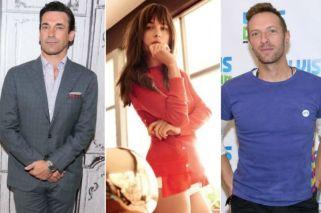 Dakota Johnson, ¿entre Chris Martin y Jon Hamm?