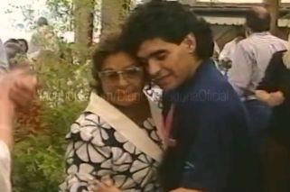El emotivo recuerdo de Diego Maradona para Doña Tota