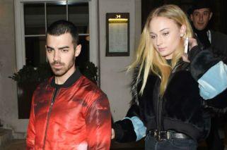 Sophie Turner y Joe Jonas, comprometidos