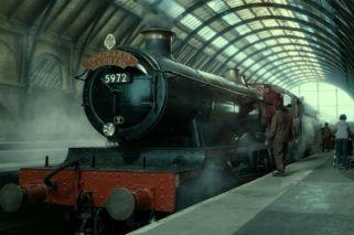 El Expreso de Hogwarts rescató a una familia en Escocia
