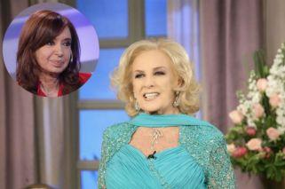 "Mirtha Legrand, dura con Cristina Kirchner: ""Ser mala persona es dejar el país como usted lo dejó"""