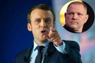 El Presidente de Francia pidió retirarle la Legión de Honor a Harvey Weinstein