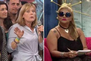 Fuerte cruce entre la Bomba Tucumana y la mamá de Laura Fernández