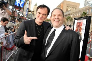 Tarantino admitió que sabía de los abusos de Weinstein