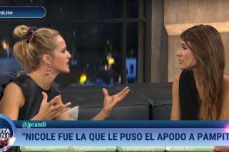 Cara a cara con Pampita, Julieta Prandi le contó quién le puso 'muqui'