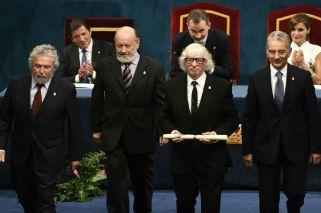 Les Luthiers recibió el premio Princesa de Asturias de Comunicación y Humanidades