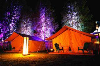 Camping con glamour, o glamping: una nueva tendencia mundial llegó a la Argentina