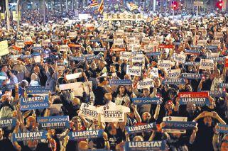 Los independentistas se preparan para una resistencia ciudadana 'a lo Gandhi'