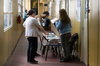 Mirá las mejores fotos de las elecciones generales