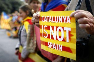 El delirio se apoderó de Cataluña