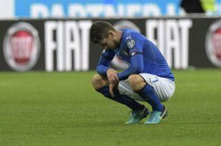 Italia quedó afuera del Mundial por primera vez en 50 años