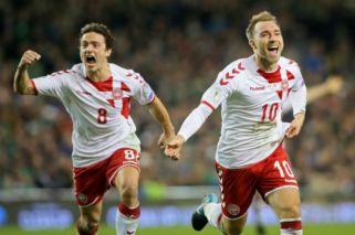 Dinamarca aplastó a Irlanda y va al Mundial