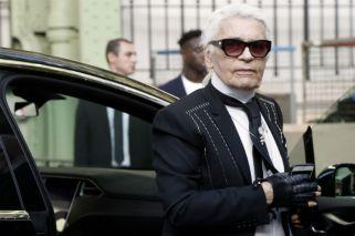Karl Lagerfeld generó polémica por una frase sobre los refugiados