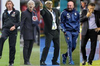 Récord de entrenadores argentinos en Rusia
